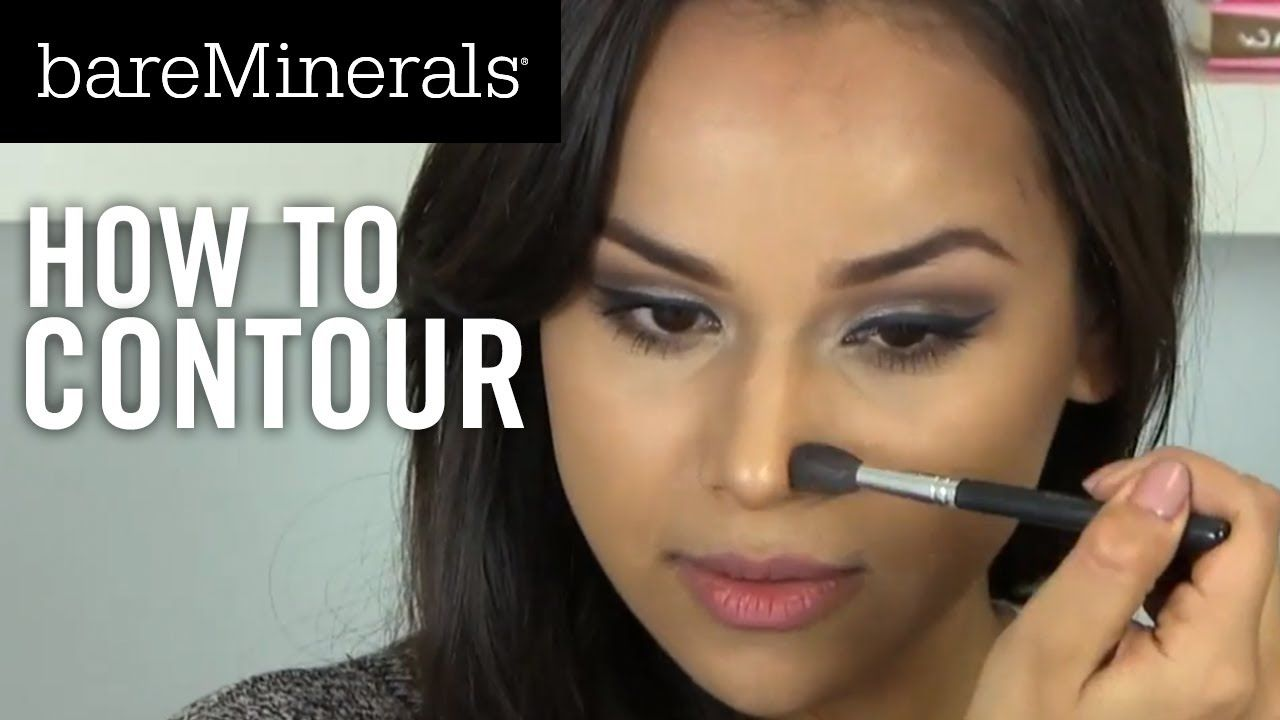 bareMinerals Tutorial: How to Contour  Contour makeup, Bare