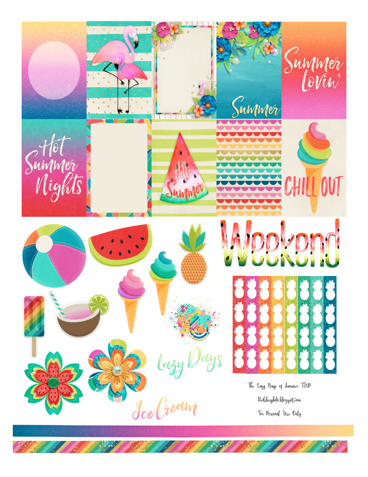 RedSheep Prints: Lazy Days of Summer are Here! # ...