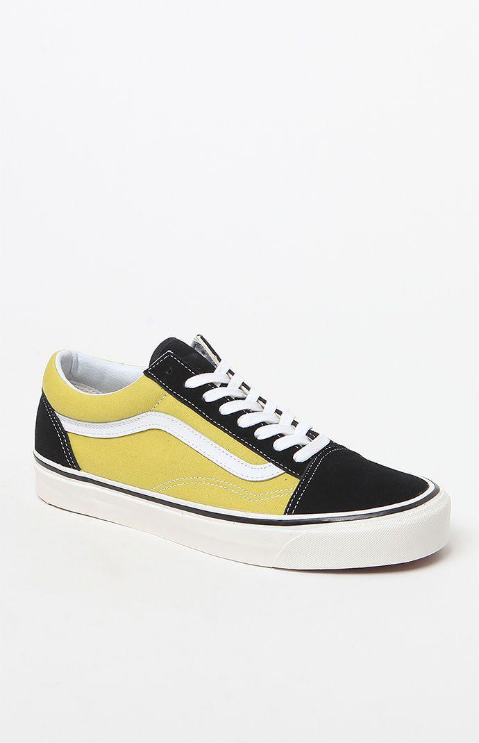 73251f087d3d44 Vans Anaheim Factory Old Skool 36 DX Black   Green Shoes