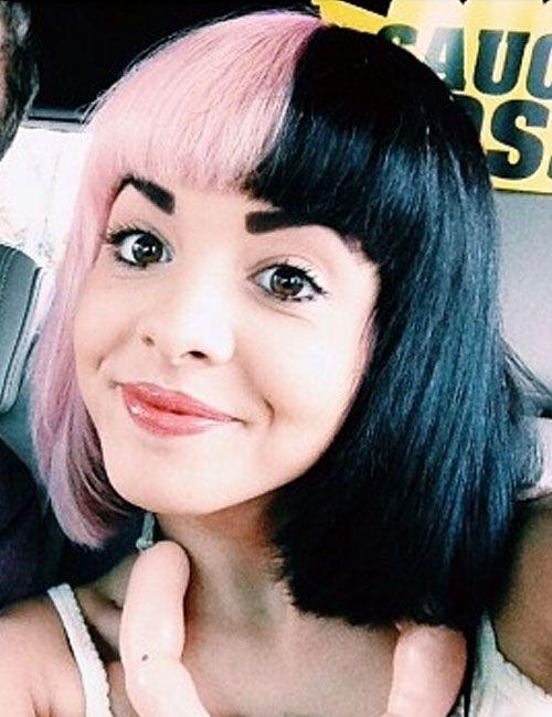 Pink Hurr Melanie Martinez Pink And Black Hair Hair Styles