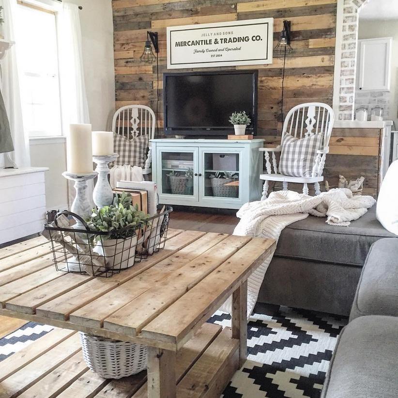 Décoration rustique couleurs, meubles, accessoires et inspirations