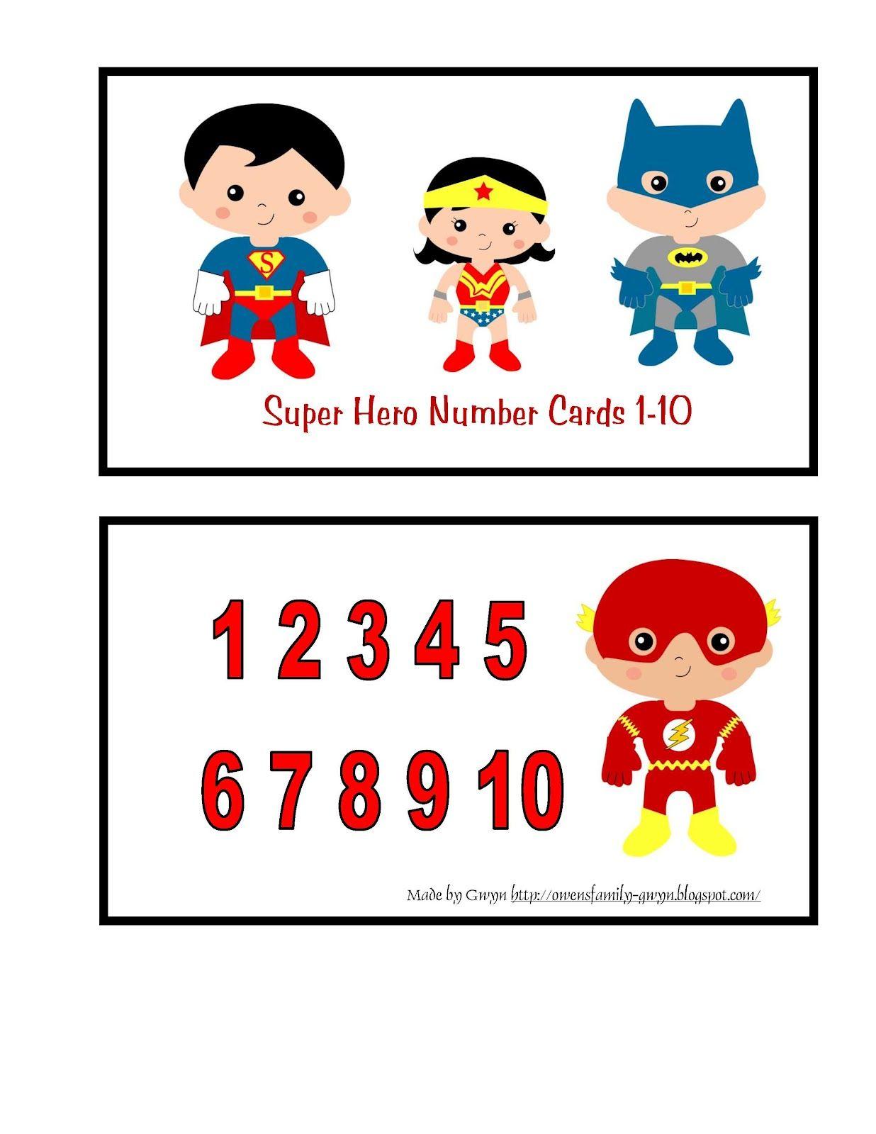 Preschool Printables Super Hero