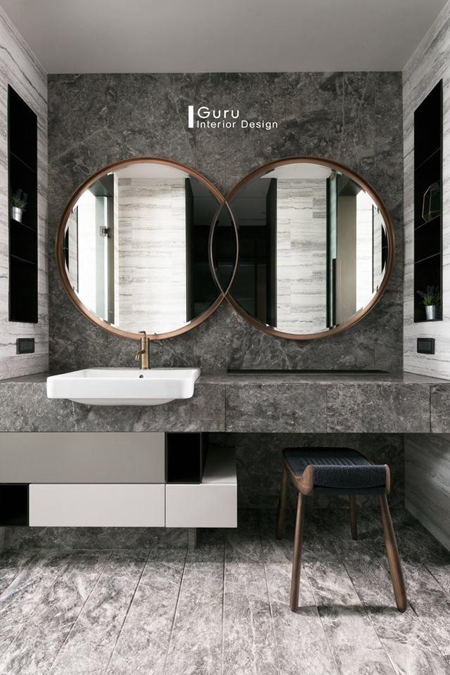 Photo of 45 Herrliche Designideen für Badezimmerspiegel – ZYHOMY