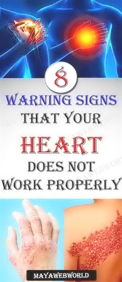 8 Warning Signs That Your Heart Doesnt Work Properly