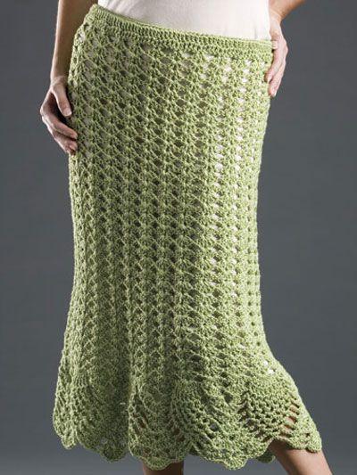 Seasonal Crochet - Spring & Summer Crochet Patterns - Free Crochet Pattern -- Pineapples & Shells