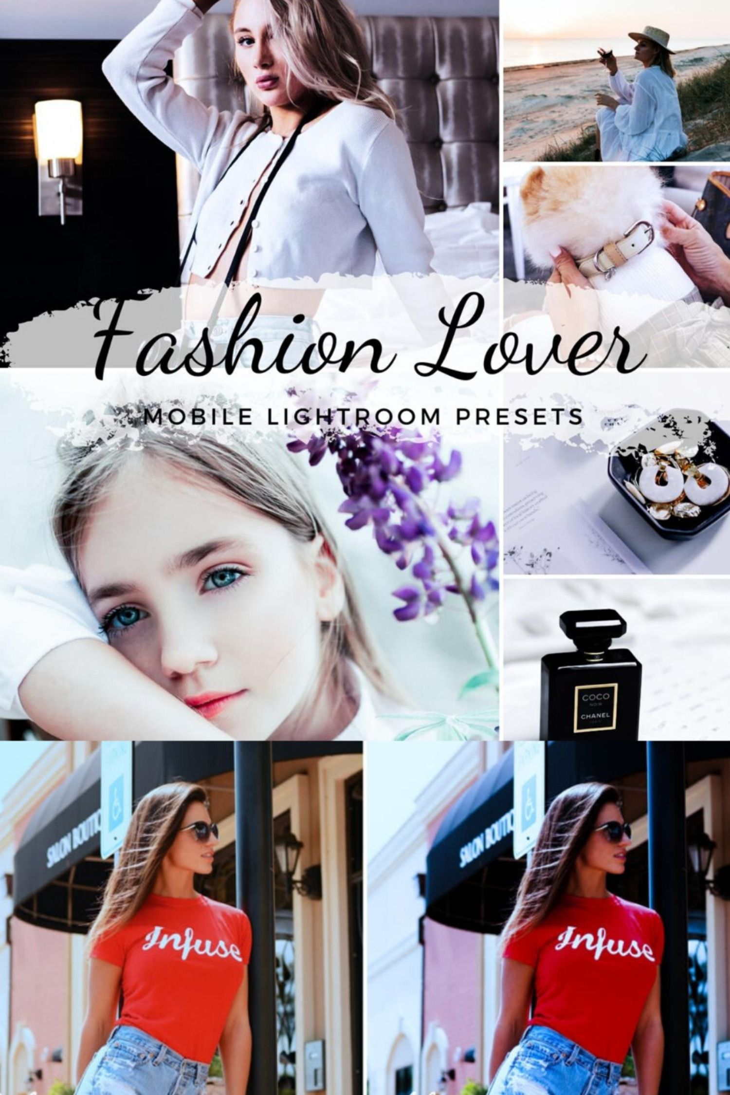 Mobile Lightroom Presets / Fashiongram Presets / Fashionable Bright Presets / Fashion Style Presets / Fashion Blogger / Instagram Filter  ❤️GET 3 & PAY FOR 2: add 3 presets to your cart, use PROMO code: CLAUDI3 and pay just for 2 ❤️❤️GET 4 & PAY FOR 3: add 4 presets to your cart, use PROMO code: CLAUDI4 and pay just for 3