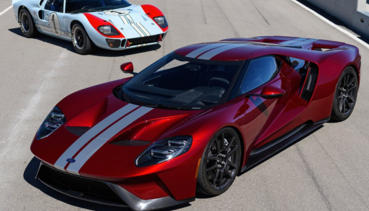 2018 Ford Gt Color Options Ford Gt Ford Gt 2017 Car Ford