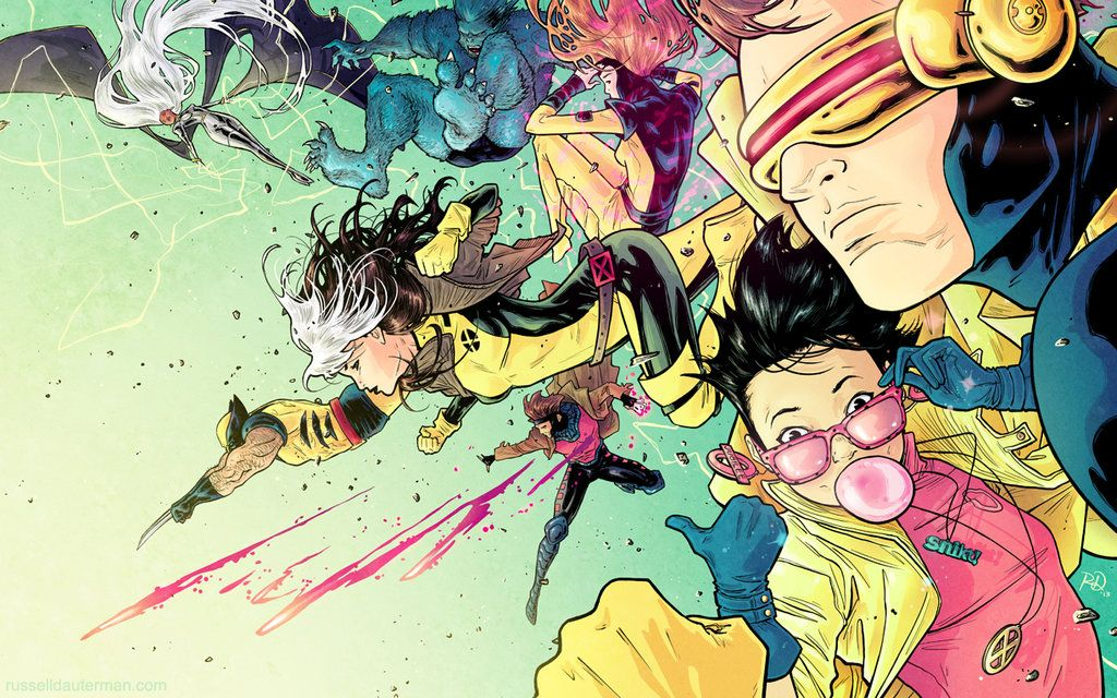 90s X Men By Rdauterman On Deviantart Marvel Superheroes Artwork Comic Books Art Comics