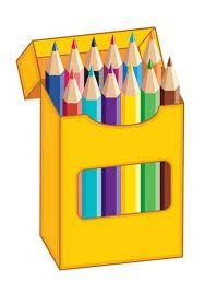Resultado De Imagen Para Dibujo De Caja Lapices De Colores Clip Art School Clipart Art School