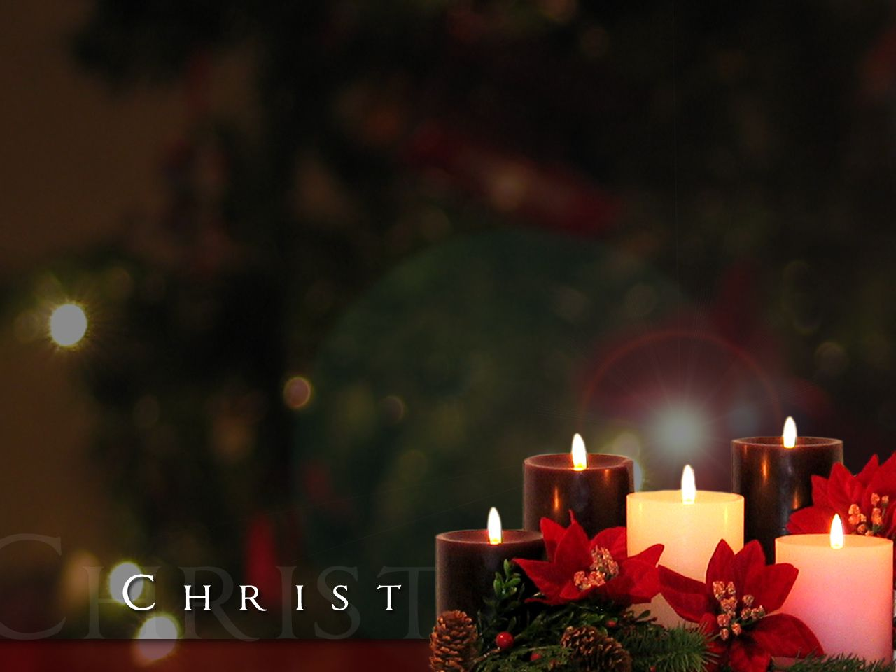 Christmas Candles Christmas Candle Wallpapers Download