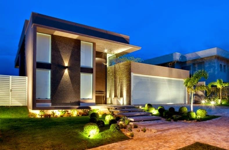 fachadas de casas com entradas principais modernas e imponentes saiba como valorizlas
