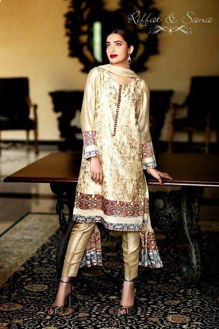 Sana Salman Mid-Summer Dress Collection 2014 by Riffat & Sana (11)