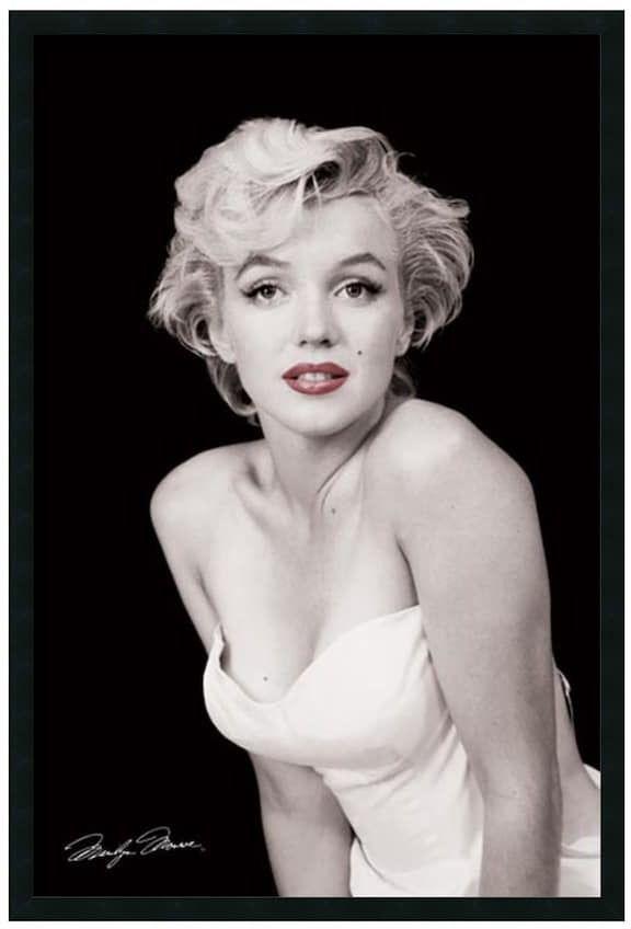 Marilyn Monroe Framed Wall Art, Black   Products   Pinterest ...