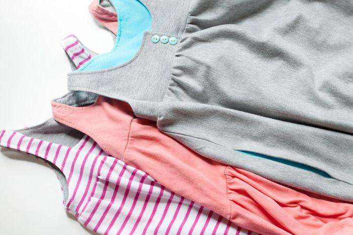 Simple summer dress pattern toddler pajamas
