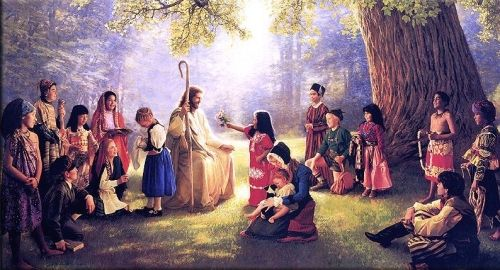jesus loves the world