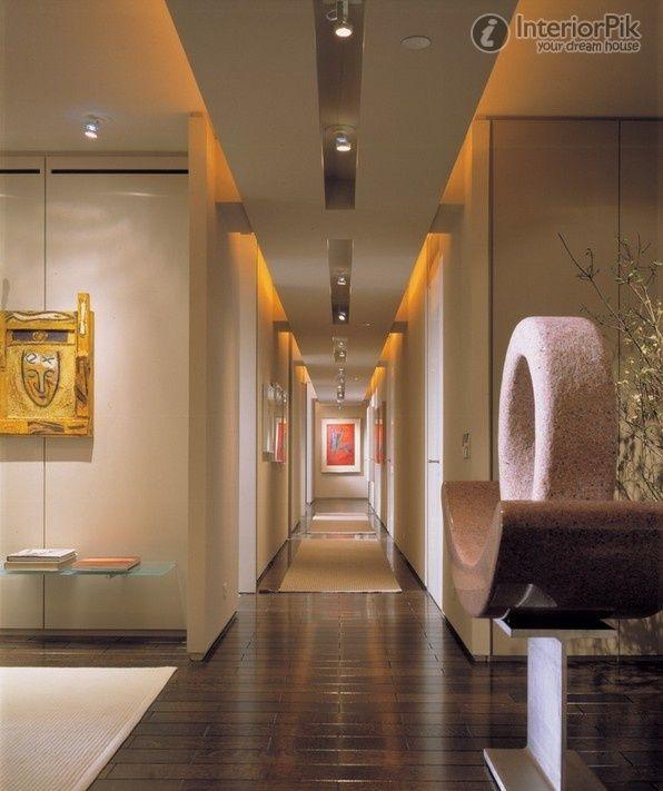 Ceiling Design For Hall Modern Hallway Small Hallways Hallway Lighting