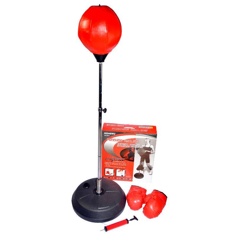 Hongwu punching bag speed ball for kids adjustable stand