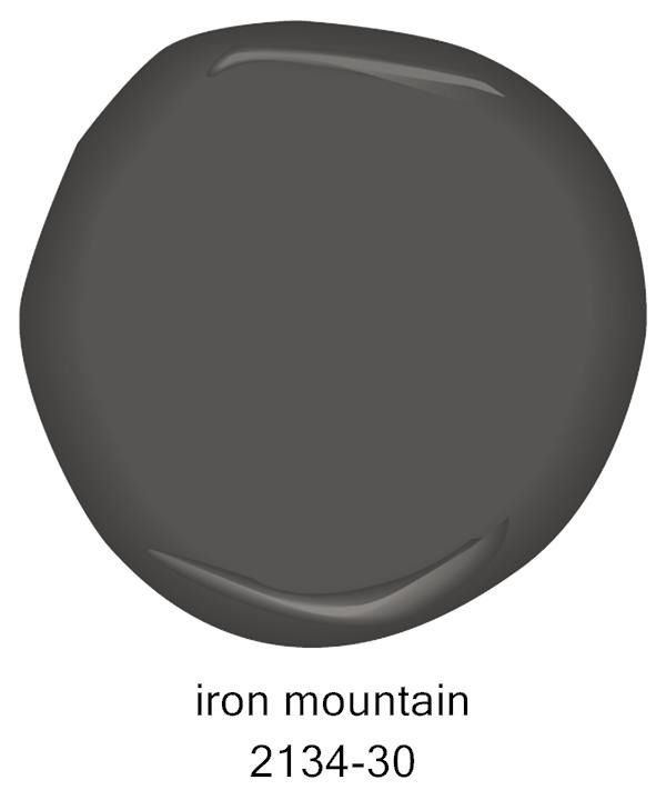 Benjamin Moore Iron Mountain Pint Sample Benjamin Moore 6 99 Domino Com Paint Colors For Home House Colors Painted Front Doors