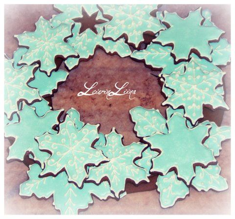 Snowflake Wreath - LeivinLiina - Vuodatus.net