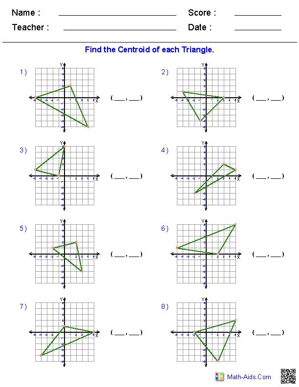 Geometry Worksheets Geometry Worksheets For Practice And Study Algebra Worksheets Pre Algebra Worksheets Writing Linear Equations