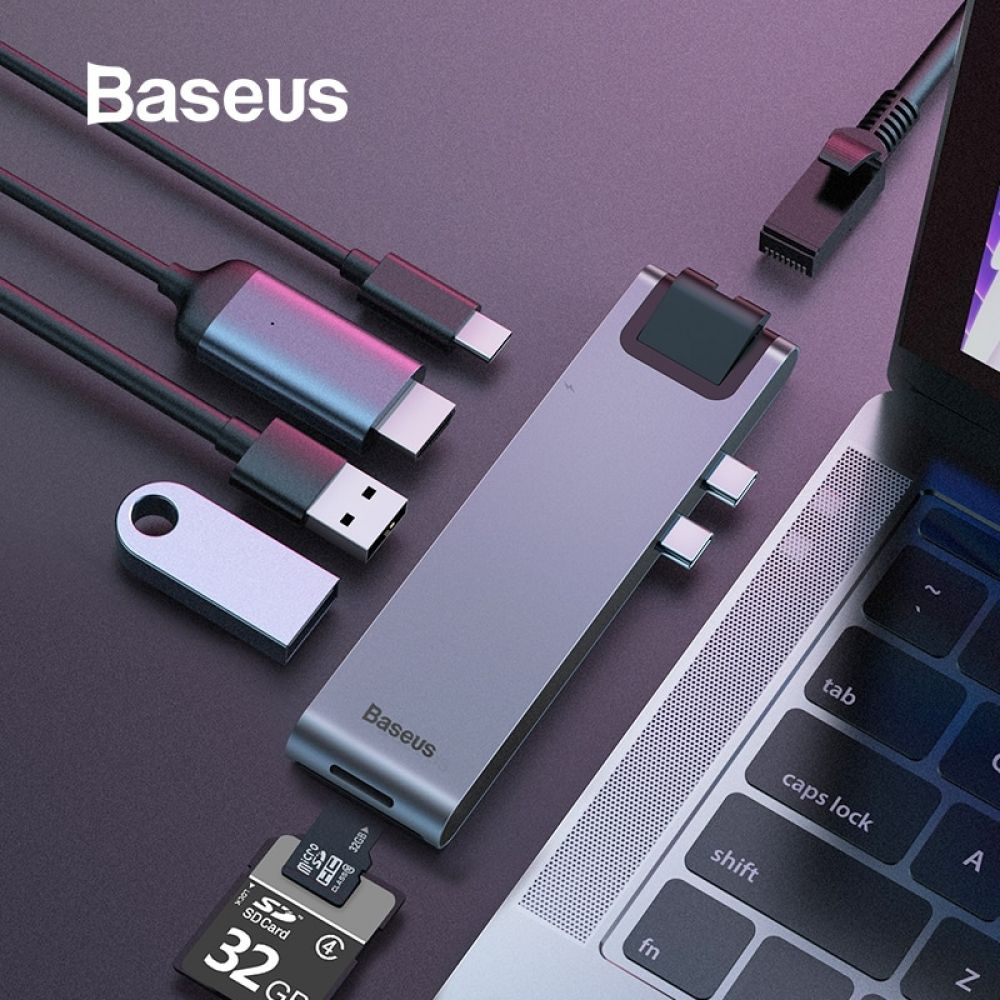 Baseus USB C HUB to Multi USB 3.0 HDMI HUB for MacBook Pro