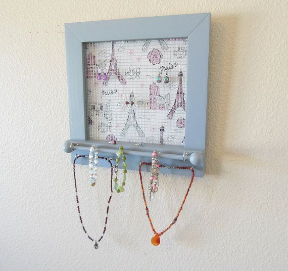 Paris Fashion Teen Jewelry Organizer Girls by therusticshackshop