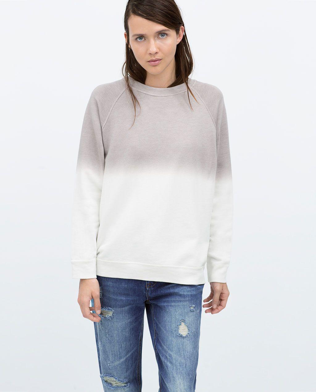 Image 2 of tiedye sweatshirt from zara tie dye sweatshirt