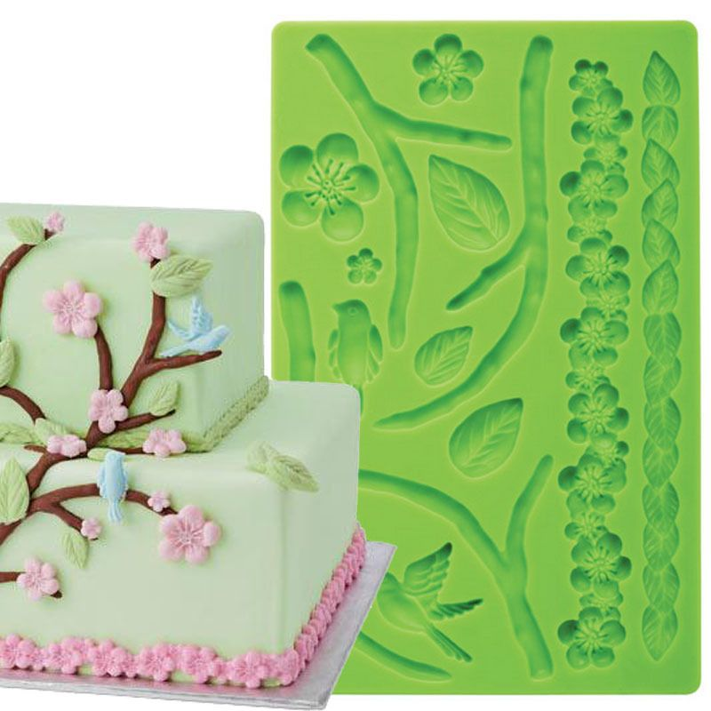 Goedkope Fondant Cake Decorating Gereedschap Natuur Fondant En
