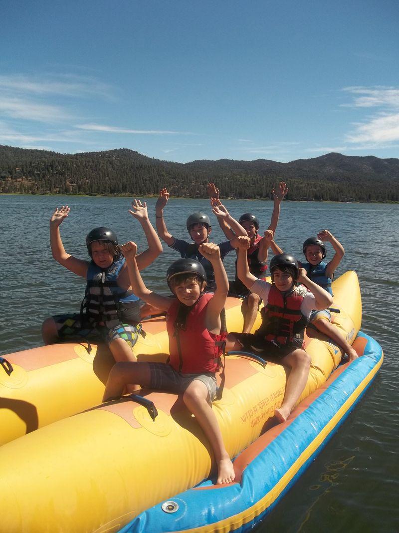 Tubing At Big Bear Lake Crazy Fun Big Bear Lake Sports Camp Wakeboarding