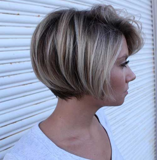 Cool Astonishing Short Bob Haircuts For Pretty Women Balayage Kurze Haare Haarschnitt Kurzhaarfrisuren