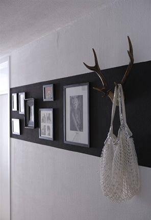 Zwart en wit interieur