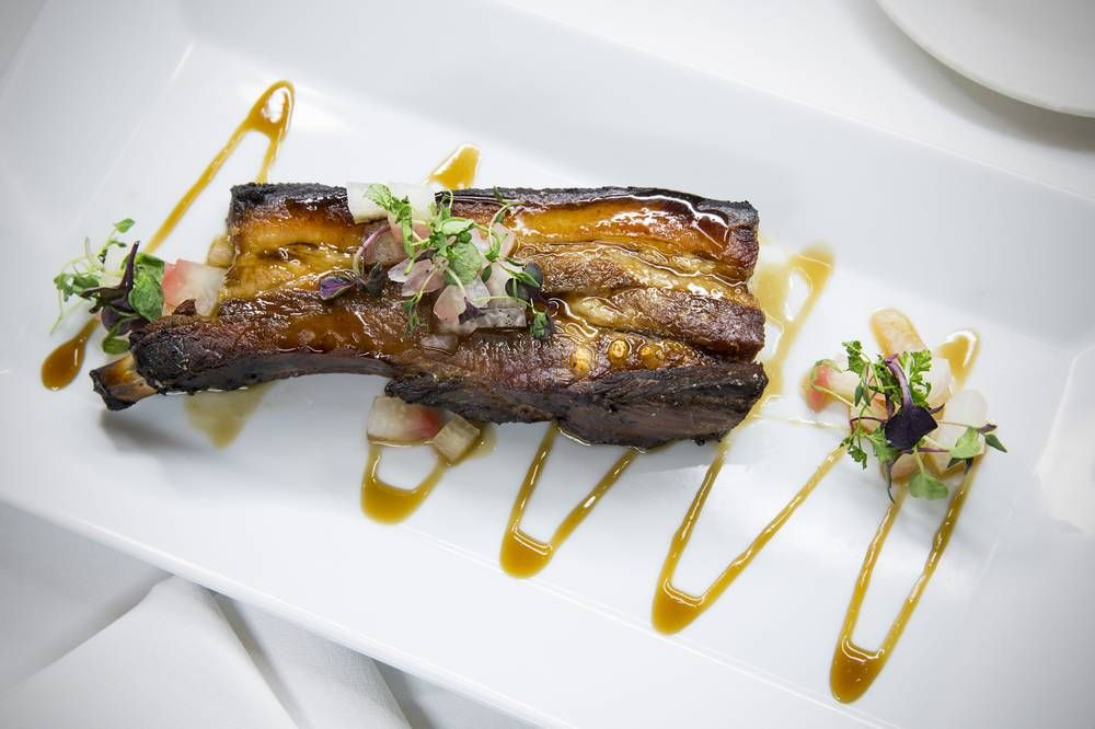 DELMONICO STEAKHOUSE DOES BACON IN A BIG, BOLD WAY