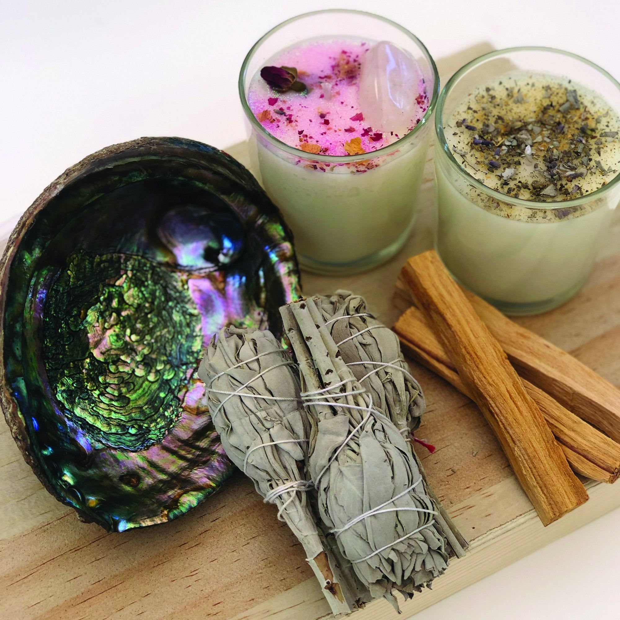 Cleansing and Blessing Love Kit - Smudging Love Attraction ...