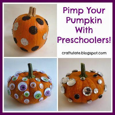 Kid Friendly Pumpkin Decorating Pumpkin Decorating Halloween Activities For Kids Pumpkin