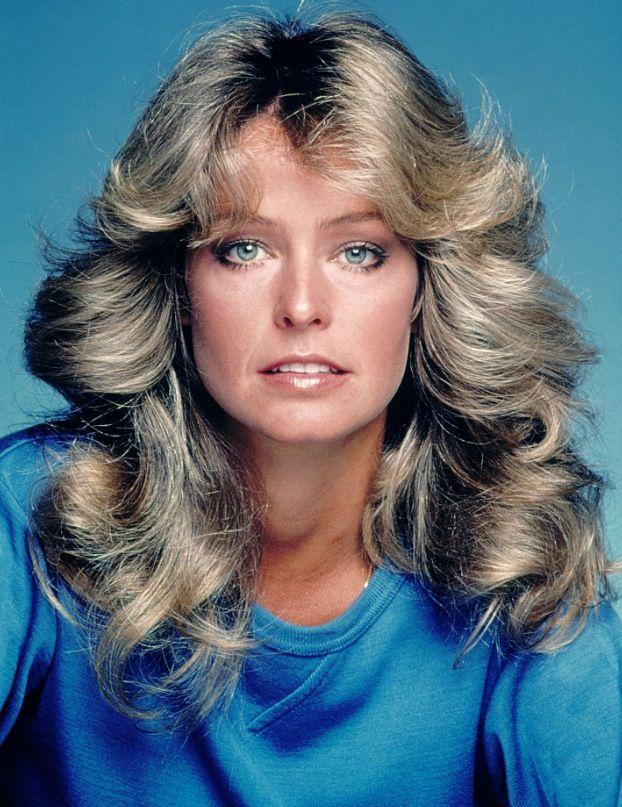 farrah fawcett 70's hair style