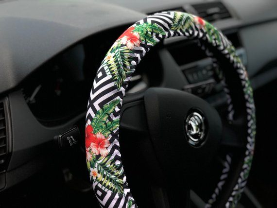 Steering Wheel Cover Fl Car Accessory For Woman Cool
