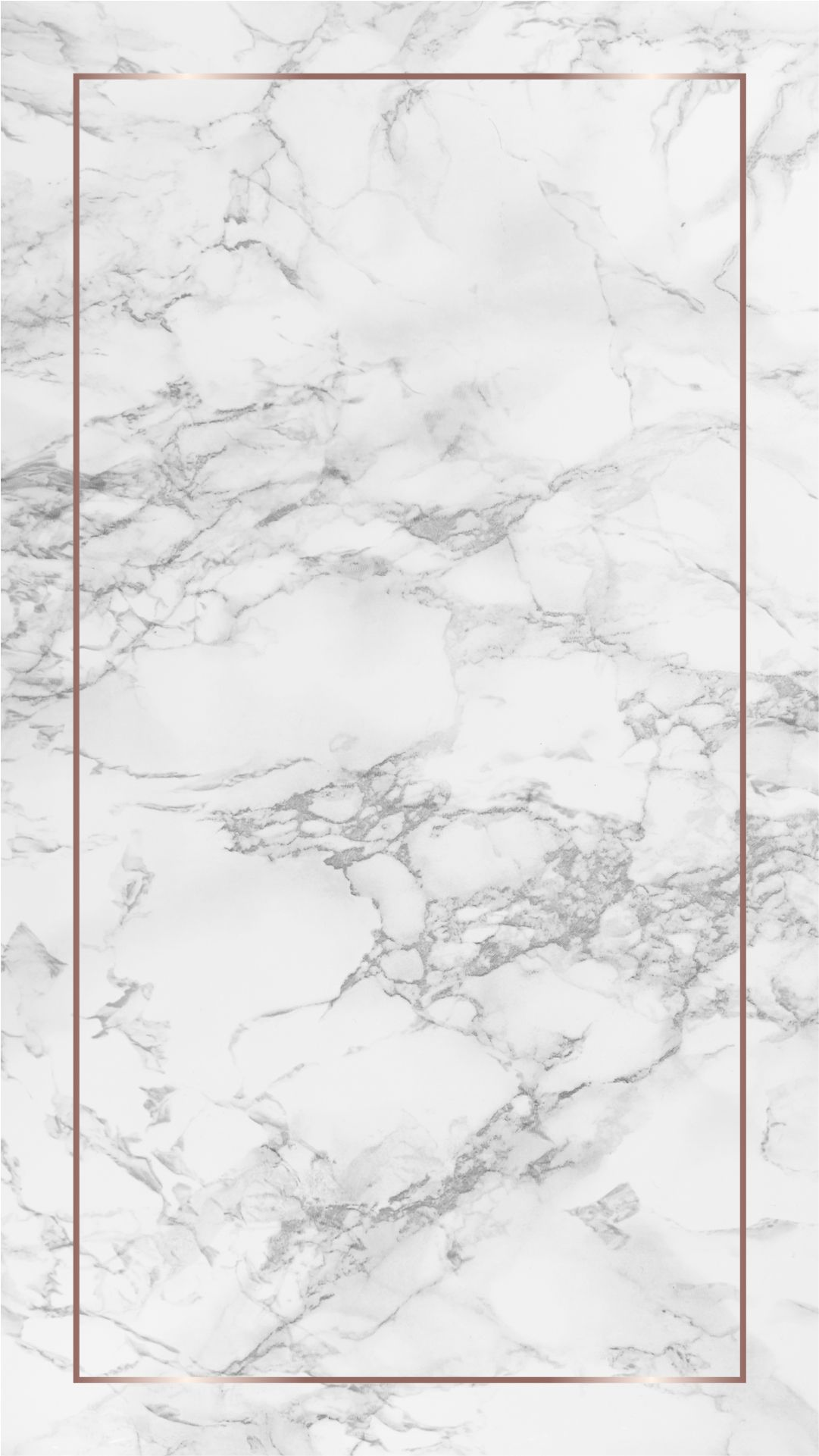 Marble and rose gold geometric phone wallpapers - The Blooming Journal