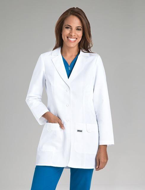 Greys Anatomy Greys Anatomy Womens Fit 32 2 Pocket Lab Coat W