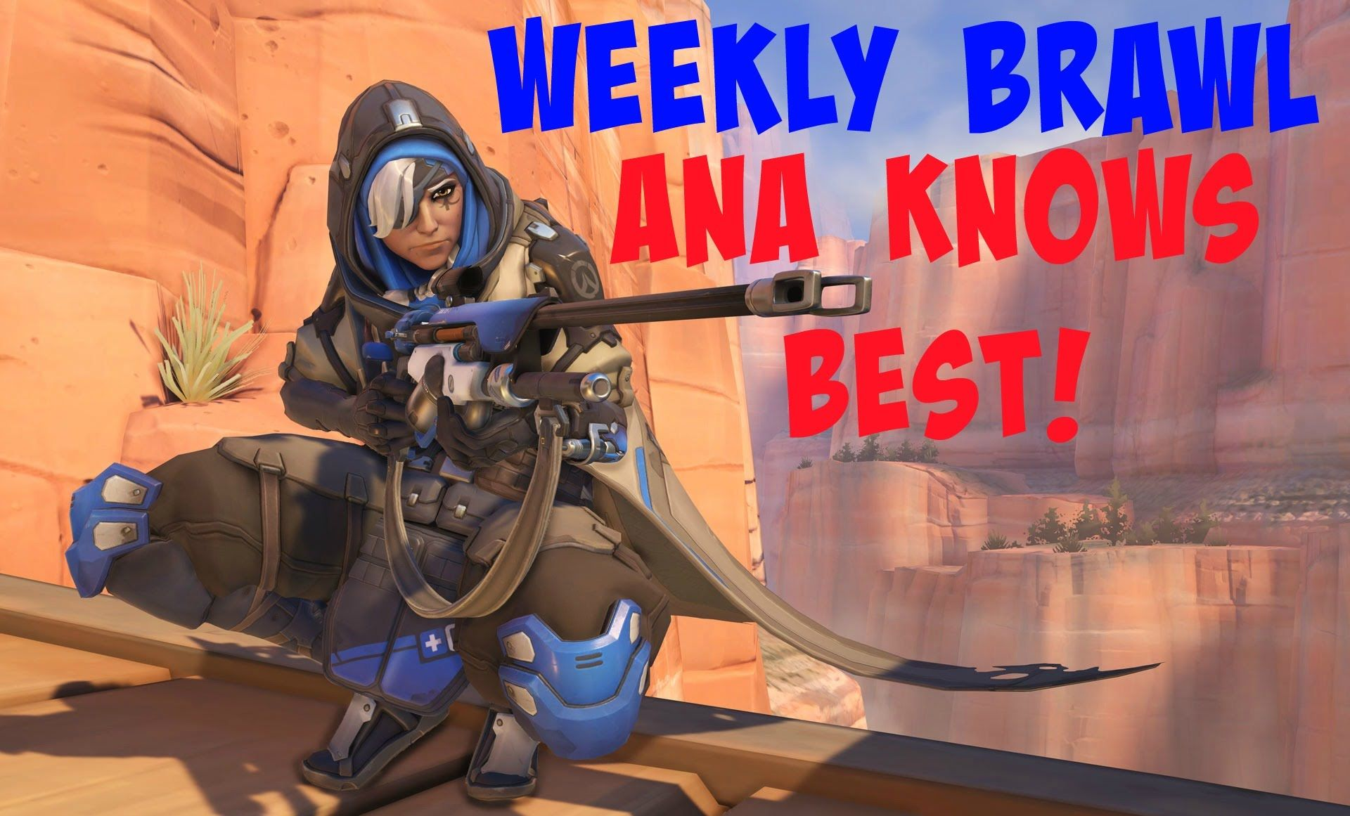 Overwatch Weekly Brawl Ana Knows Best Console Gameplay