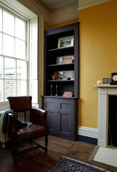 peinture 6 couleurs d co pour un salon super chic farrow ball noir mat et repeindre. Black Bedroom Furniture Sets. Home Design Ideas