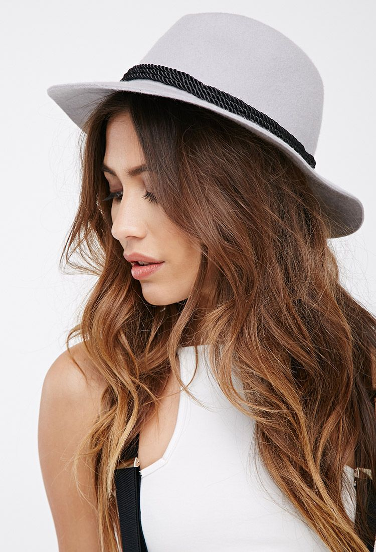 Twisted band wool fedora forever faccessorize hair