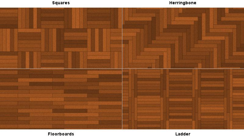 Wood Floor Design Ideas here are some direction changes in this floor flooring ideaswood Ladder Pattern Bottom Right Wood Floor