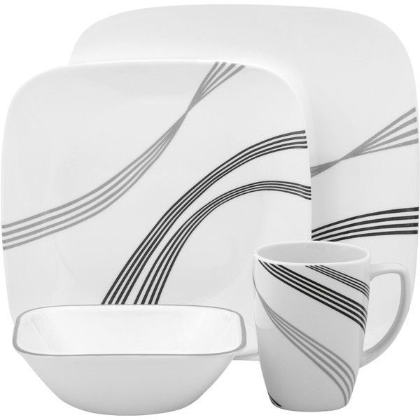 Buy Corelle Urban Arc Square Dinner Set And More Homeware, Kitchenware And  Cookware Products At Popat Stores UK.