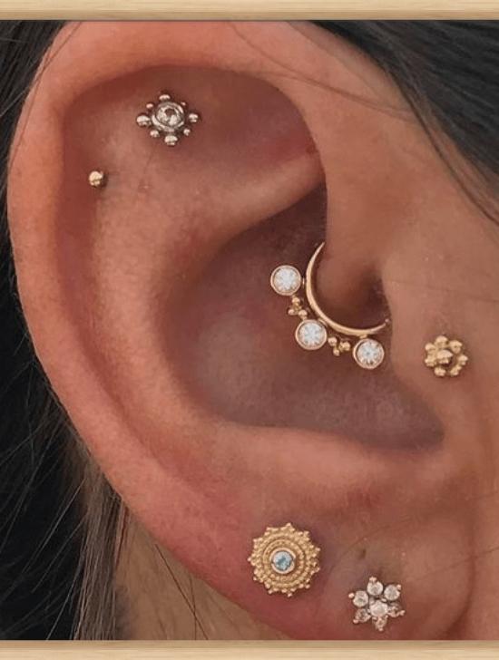 سخونة الثغرات التي تحتاجها الآن Society19 Society Society Society19 الآن التي الثغرات تحتاج Daith Piercing Jewelry Bar Stud Earrings Ear Peircings