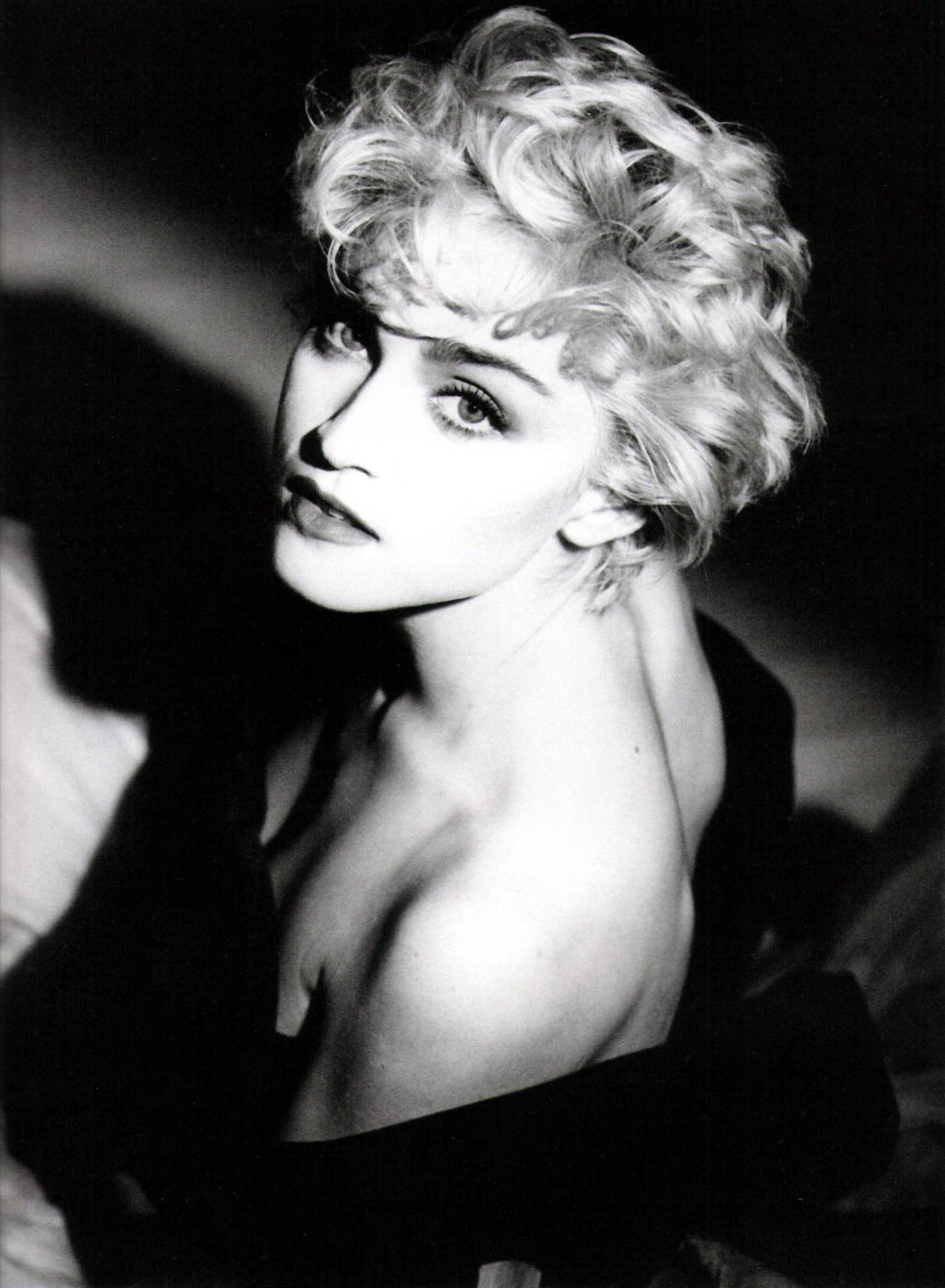 Madonna smoking on a cigarette I dislike smoking but it makes for