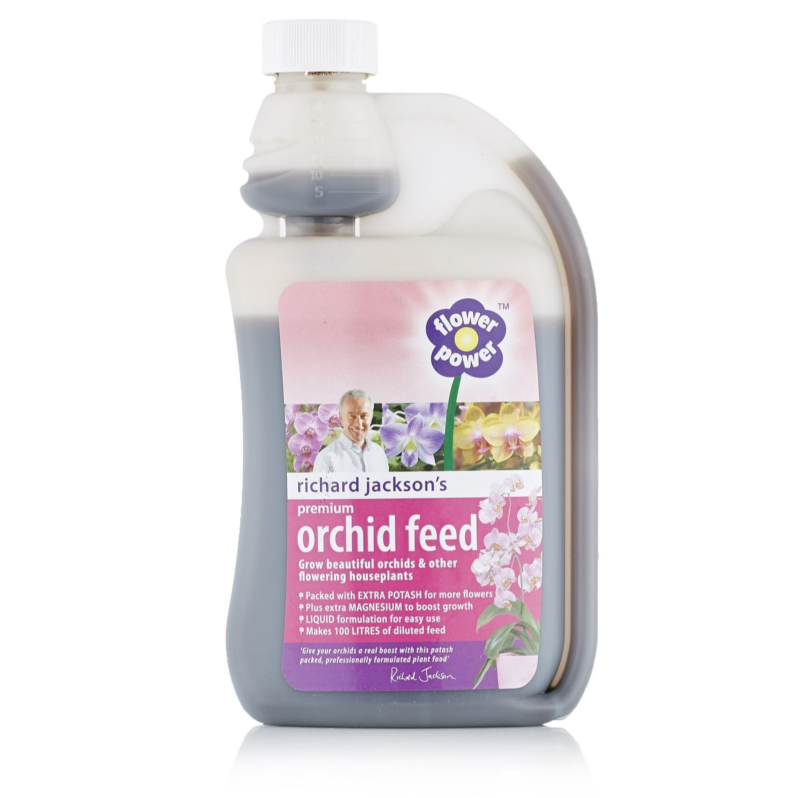 507301 Richard Jackson S Flower Power Premium Orchid Feed 500ml