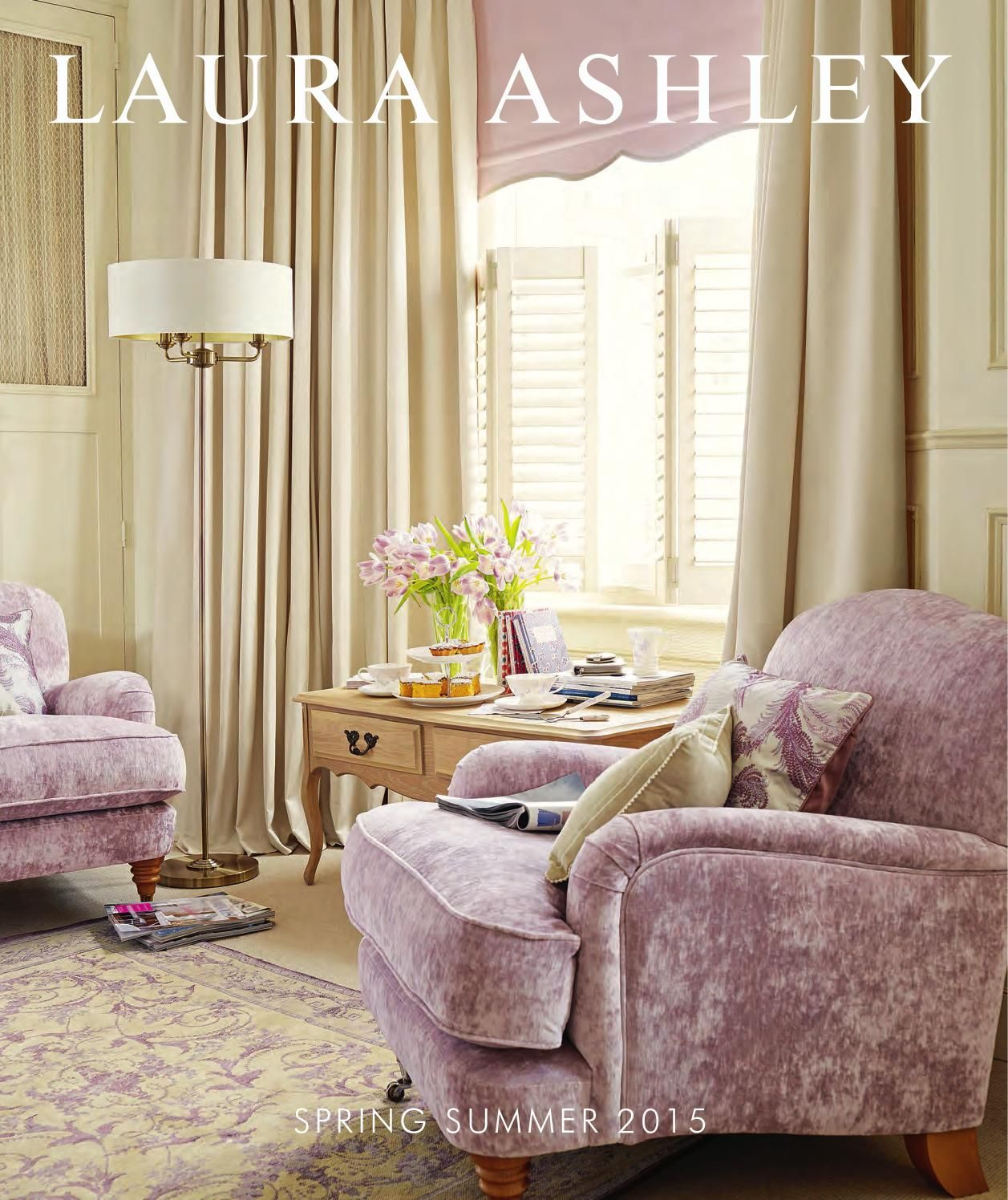 LAURA ASHLEY Spring Summer 2015 Catalogue