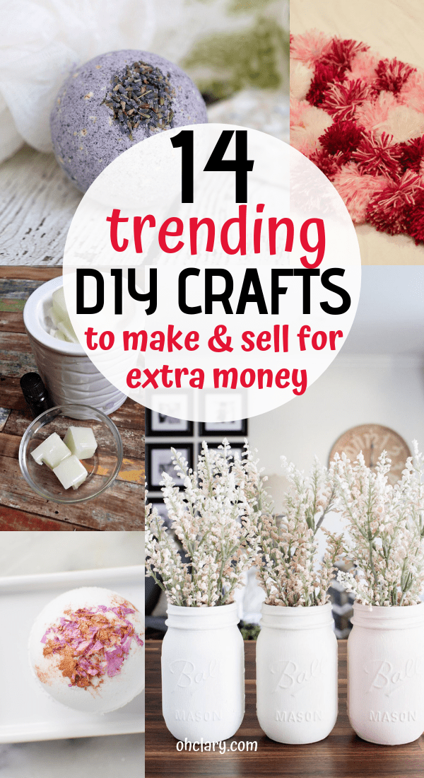 Easy Crafts That Make Money – 14 Simple Crafts To Make And Sell For Extra Money