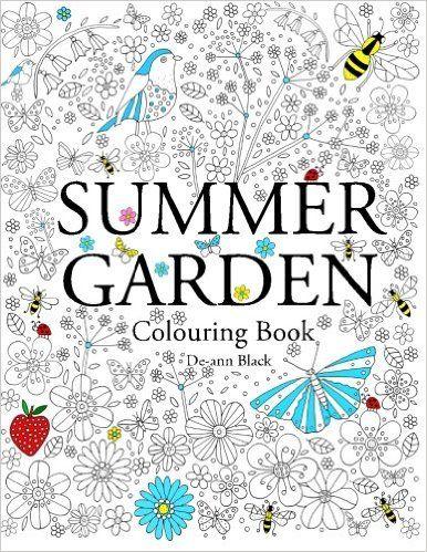 Summer Garden Colouring Book De Ann Black 9781908072962 Amazon