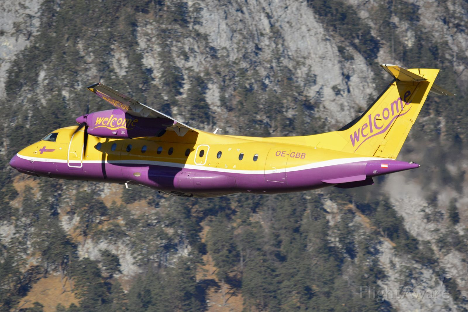 Photo of TYW Fairchild Dornier 328 (OEGBB) FlightAware